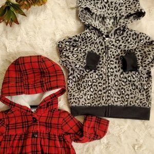 2 Carter's Fleece Jackets